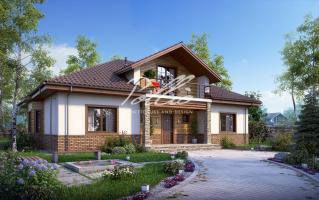 X1 Оптимальный дом с мансардным этажом фото 1