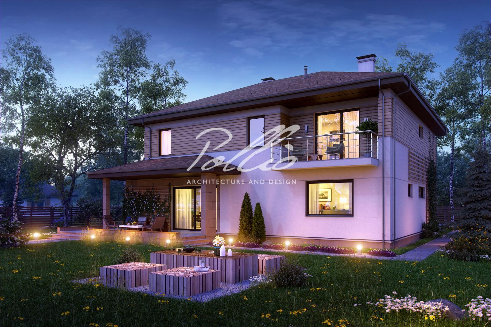 X4 Комфортный двухэтажный дом для современной семьи фото 4