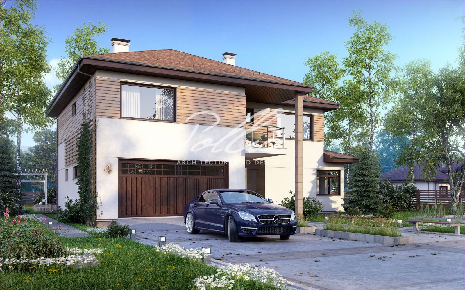X4 Комфортный двухэтажный дом для современной семьи фото 2