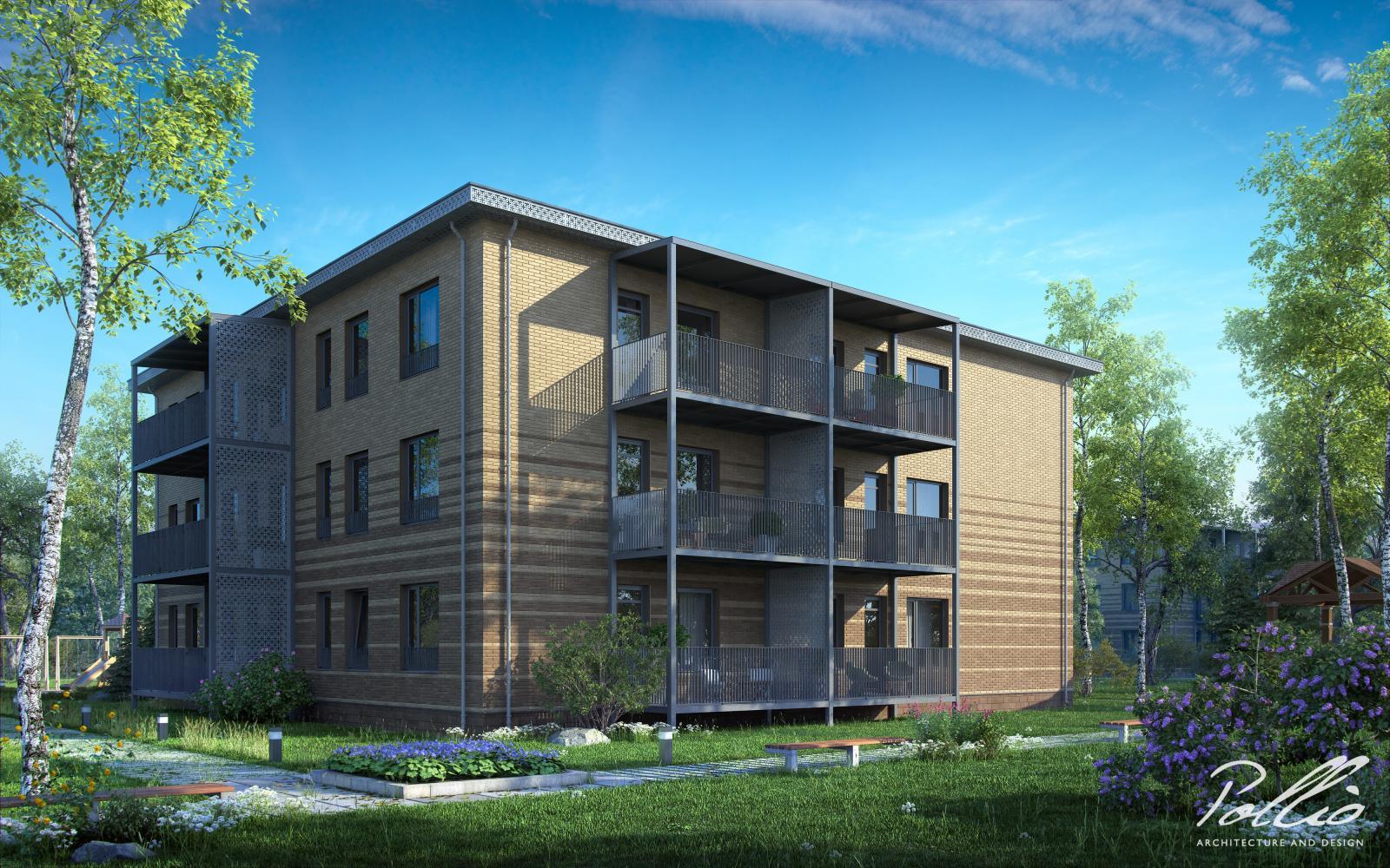 Xb1 Многоквартирный дом с уникальным дизайном фото 2