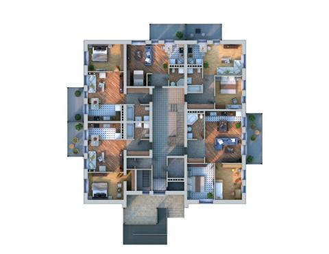 планировки первого этажа проекта Xb1