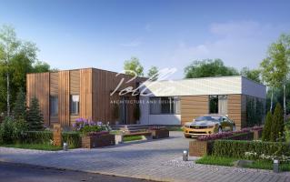X9 Cовременный проект дома с сауной и джакузи  фото 1