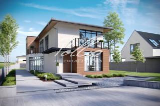 X11 Захватывающий проект дома для узкого участка фото 1