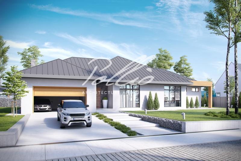 X12. Эксклюзивный проект одноэтажного дома