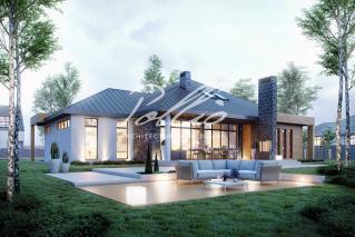 X12 Эксклюзивный проект одноэтажного дома фото 4