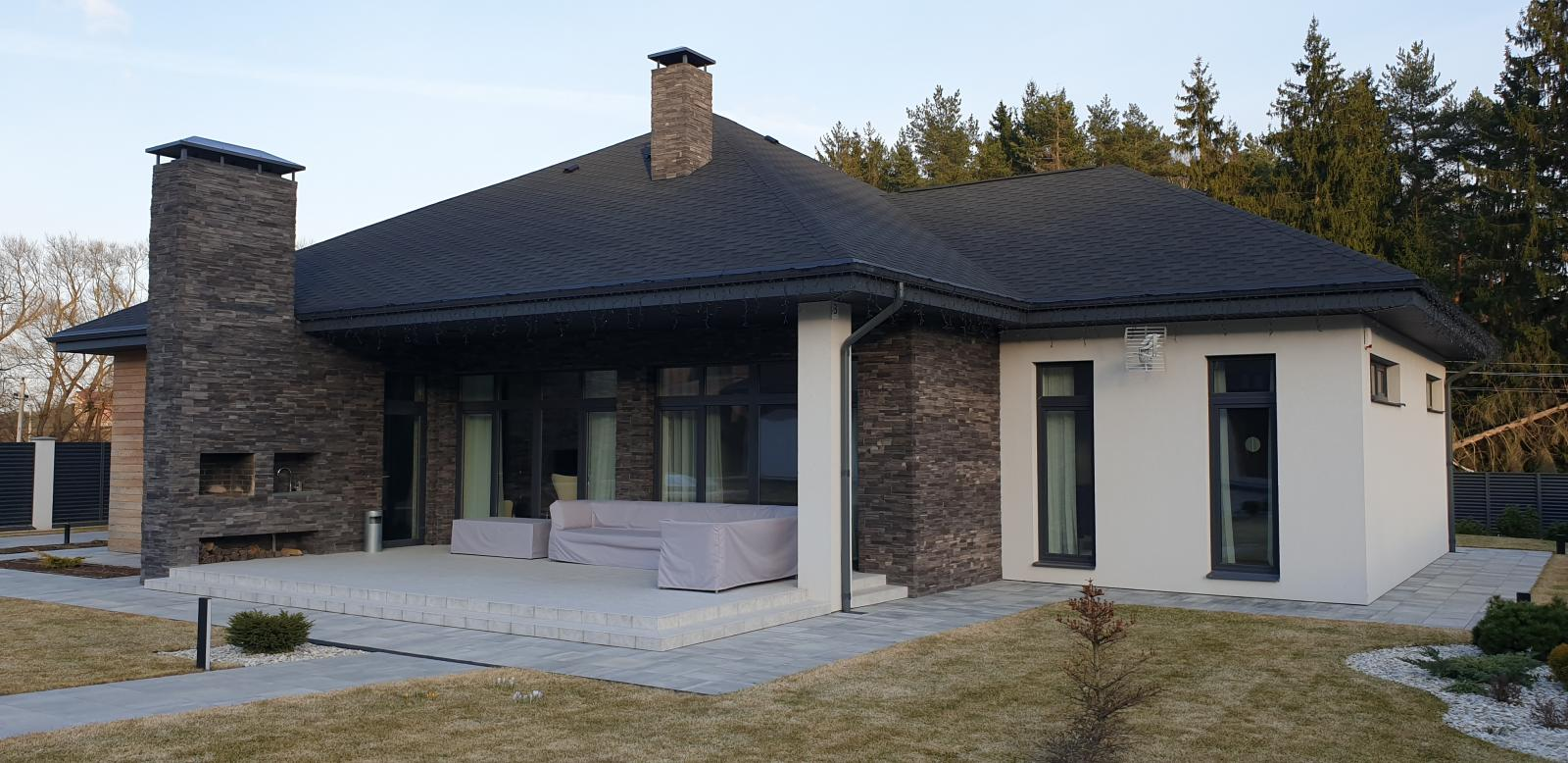 X12 Эксклюзивный проект одноэтажного дома фото 5