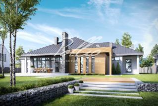 X12 Эксклюзивный проект одноэтажного дома фото 3