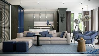 X12 Эксклюзивный проект одноэтажного дома фото 9