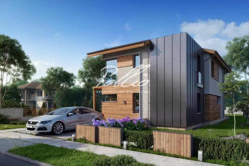 X13. Проект мансардного дома, который удивляет!