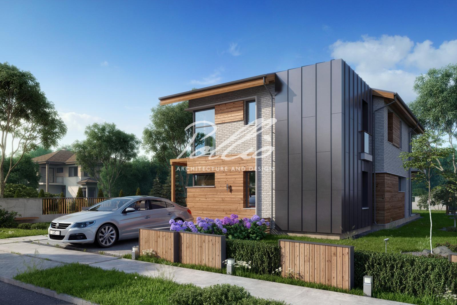 X13 Проект мансардного дома, который удивляет! фото 1