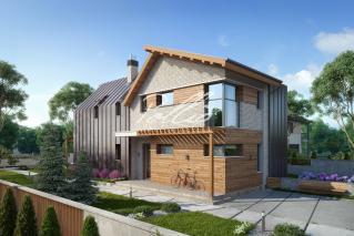 X13 Проект мансардного дома, который удивляет! фото 2