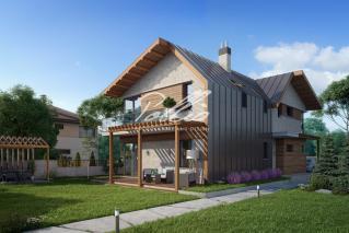 X13 Проект мансардного дома, который удивляет! фото 3