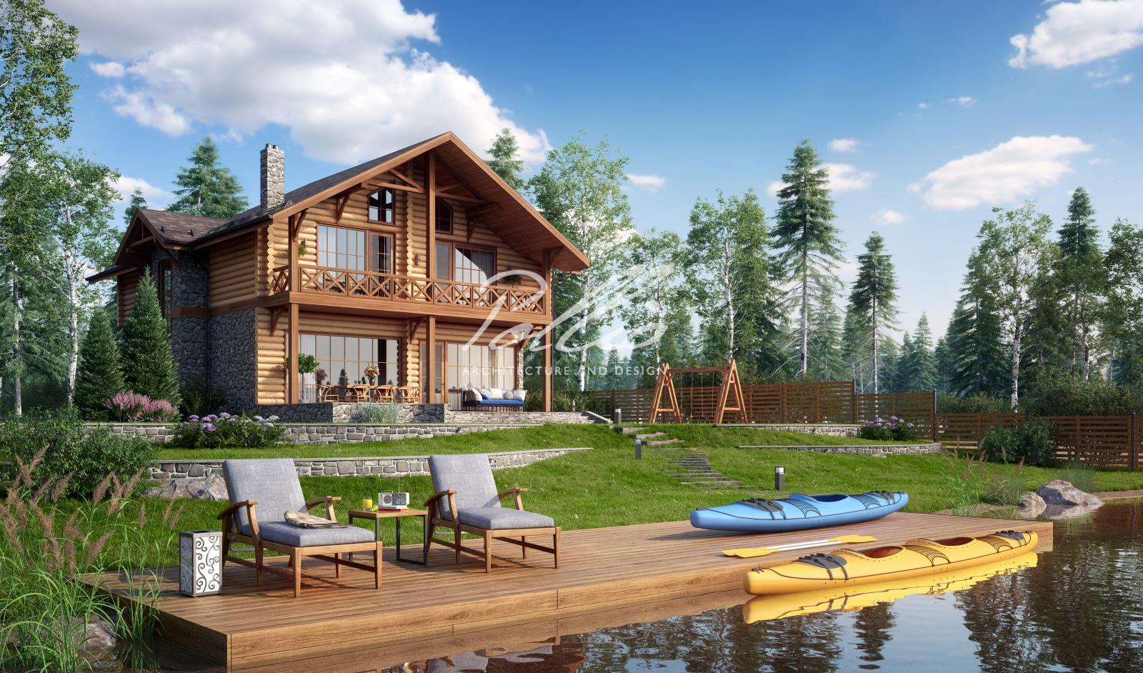 X17 Проект деревянного дома фото 1