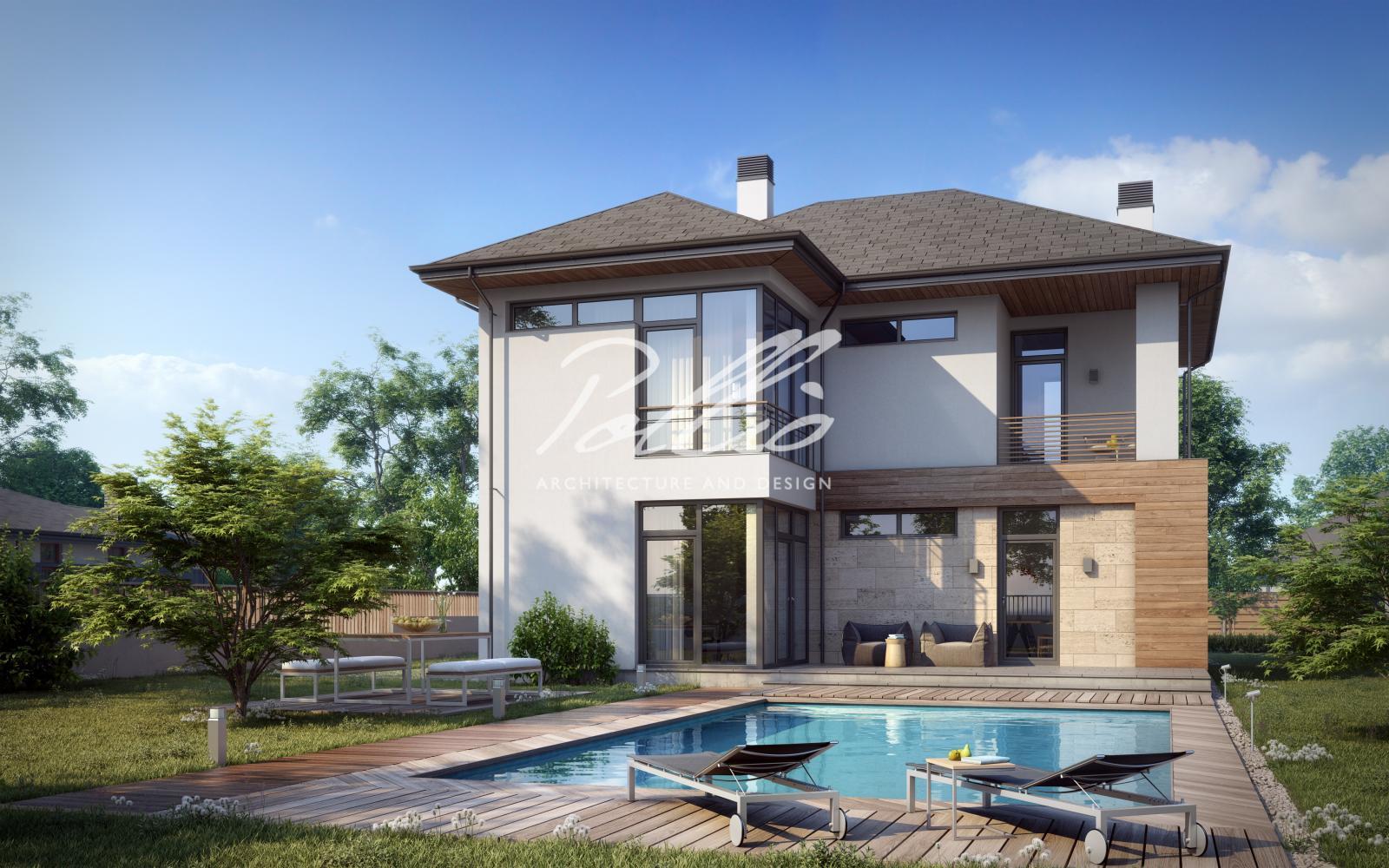 X18 Классический проект двухэтажного дома фото 3