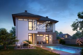X18 Классический проект двухэтажного дома фото 4