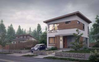 X19 Небольшой и стильный проект двухэтажного дома фото 5