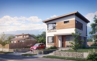 X19 Небольшой и стильный проект двухэтажного дома фото 2