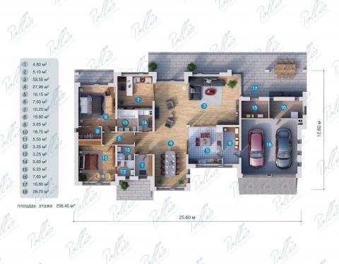 планировки первого этажа проекта X20