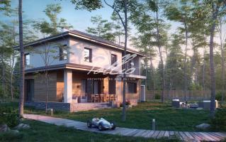 X21 Проект двухэтажного дома с подвалом фото 3