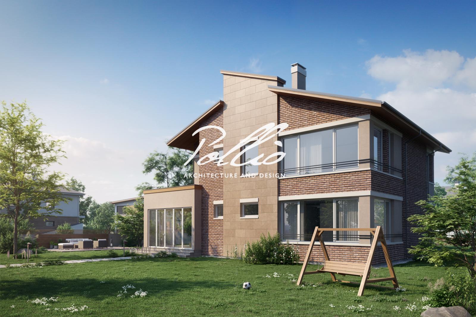 X22 Двухэтажный дом для большой семьи фото 4