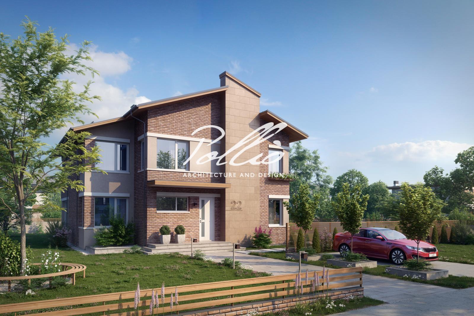 X22 Двухэтажный дом для большой семьи фото 1