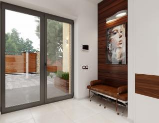 X23 Современный двухэтажный особняк фото 7