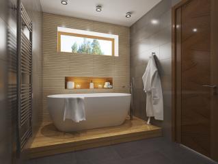 X23 Современный двухэтажный особняк фото 8