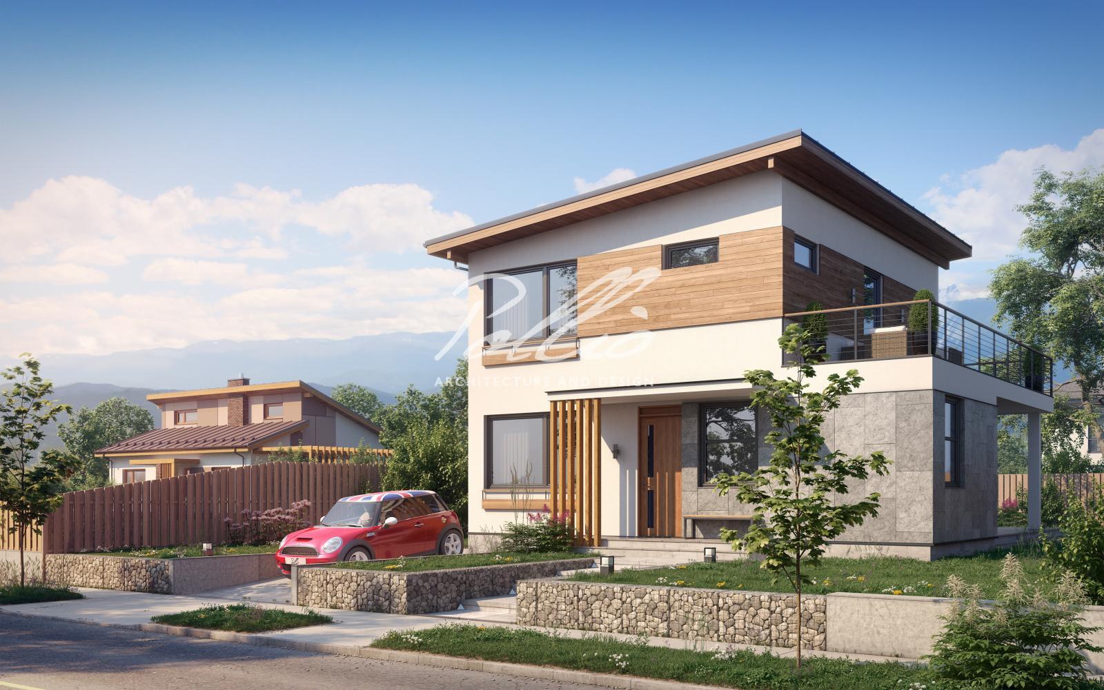 X19 A Небольшой проект двухэтажного дома со вторым светом фото 3