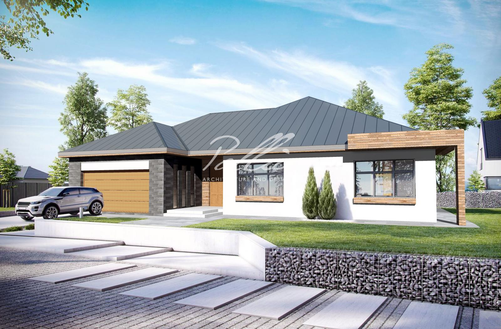 X12a Уменьшенный вариант лучшего одноэтажного дома фото 1