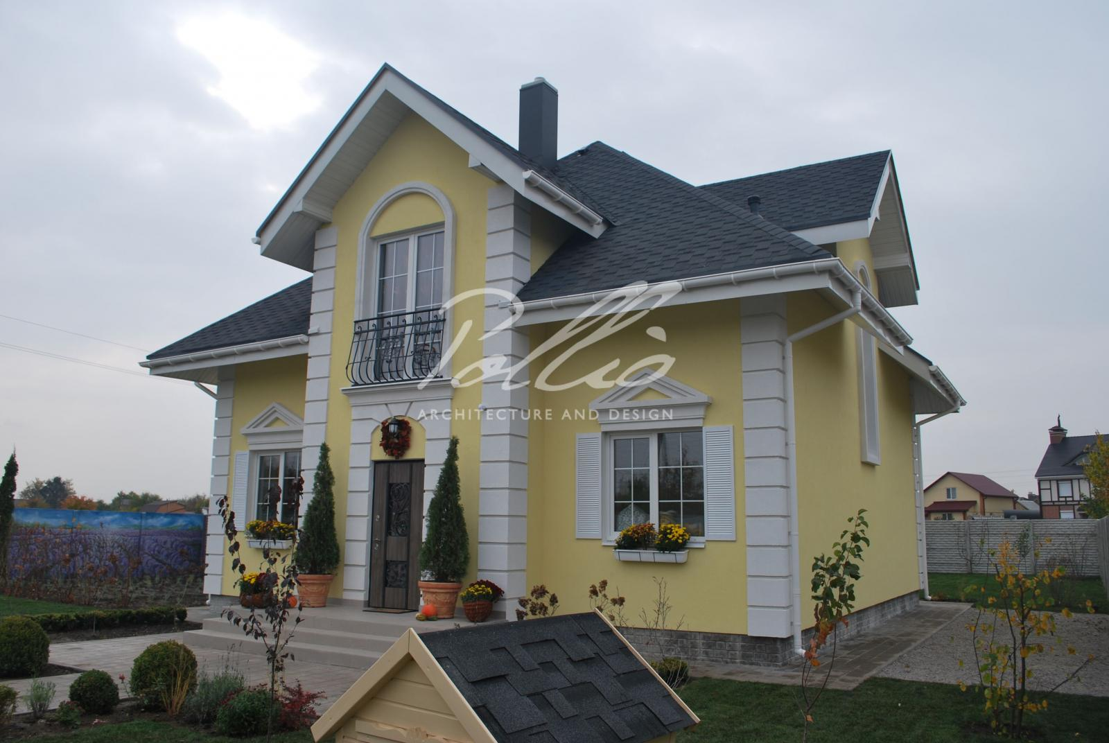 X2a Классический проект мансардного дома в стиле Прованс фото 5