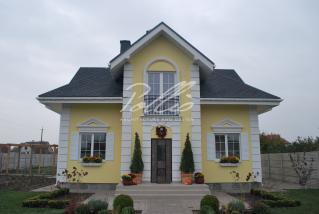 X2a Классический проект мансардного дома в стиле Прованс фото 3