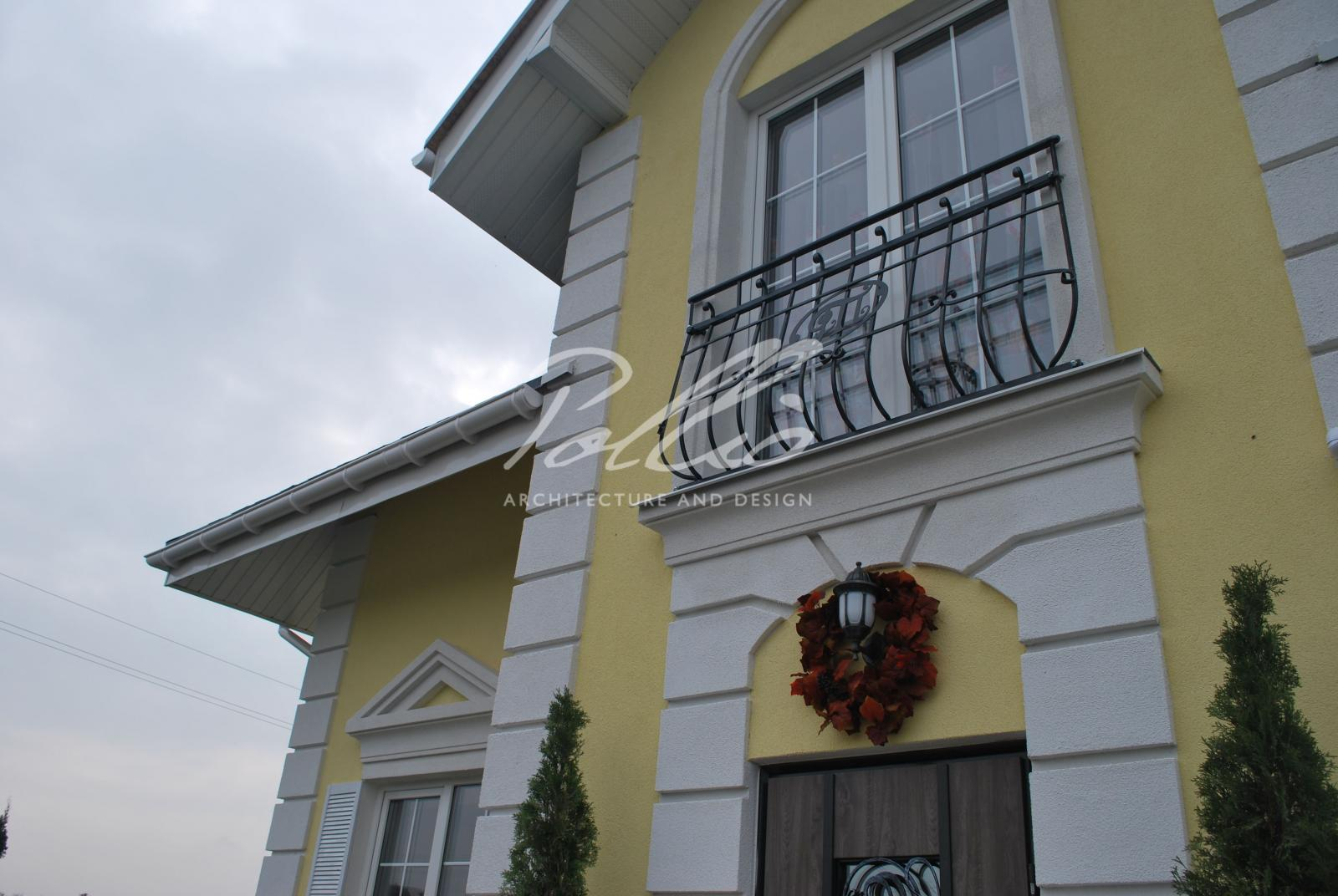 X2a Классический проект мансардного дома в стиле Прованс фото 6