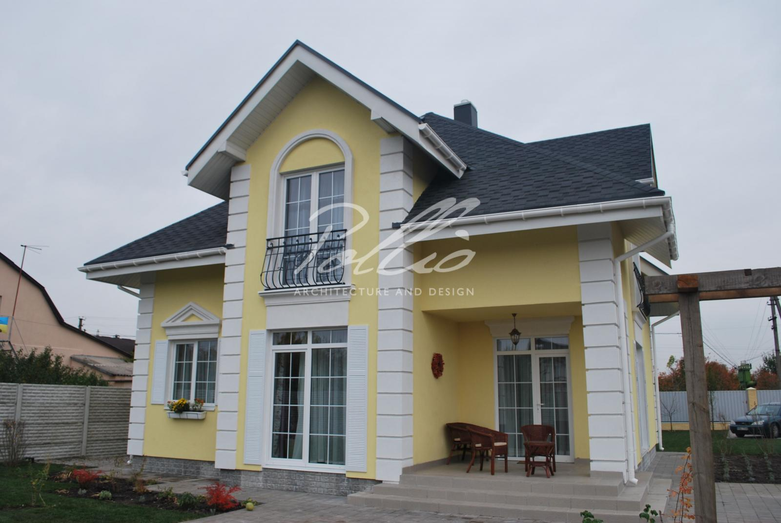 X2a Классический проект мансардного дома в стиле Прованс фото 4