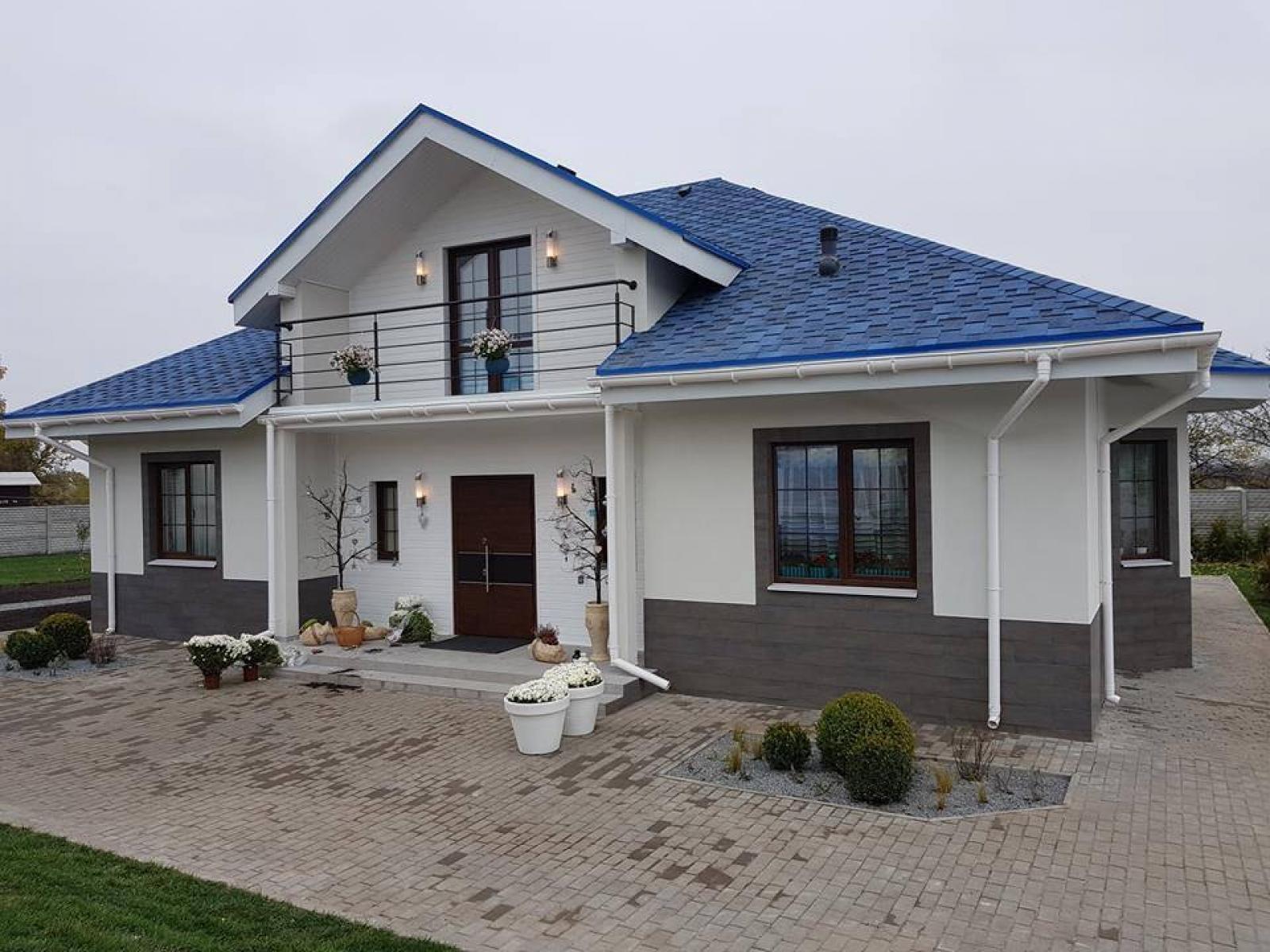 X1b Лучший проект дома с мансардой фото 3