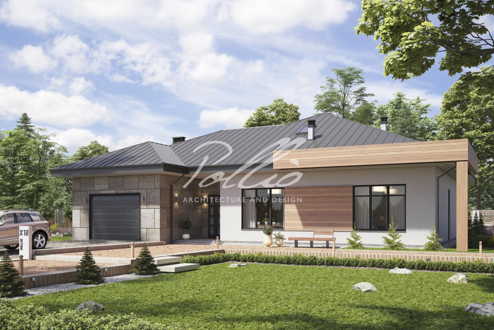 X12b Современный дом для большой семьи фото 2