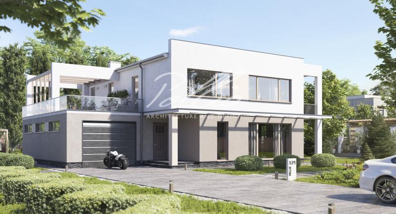 X29. Двухэтажный дом с плоской кровлей