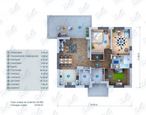 планировки первого этажа проекта X36